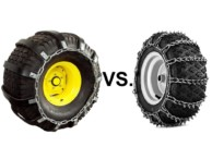 Tire Chains: Metal vs. Rubber Comparison